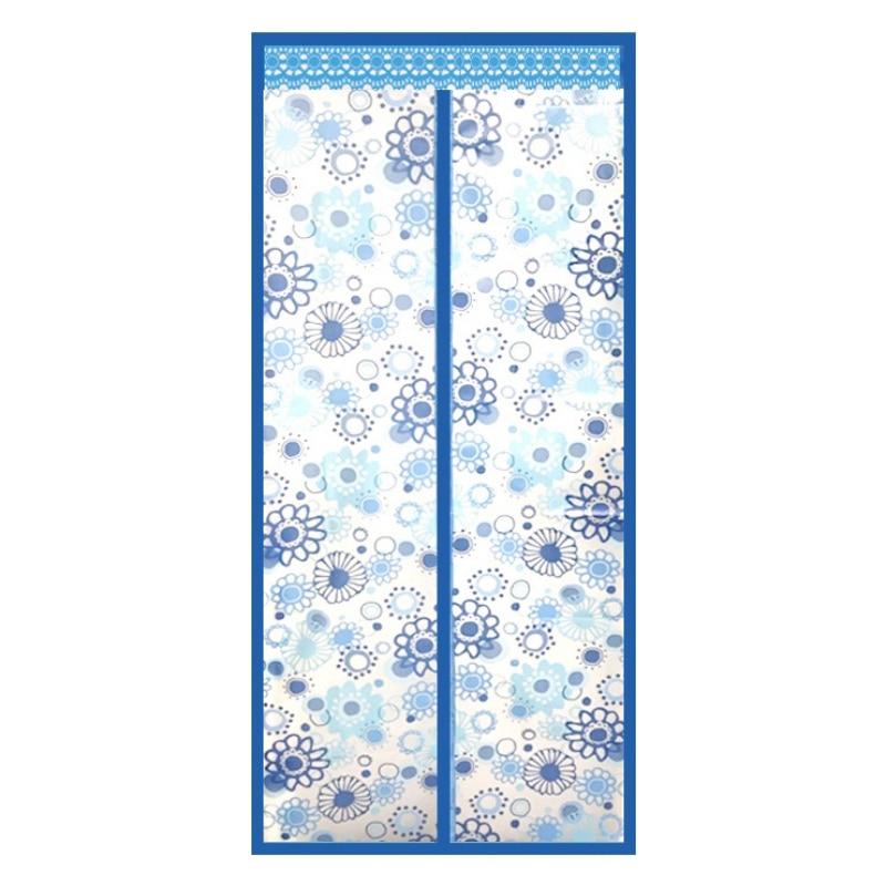 Кондиционер для комнаты/кухни магнитный экран для двери магнитный теплоизолированный сетчатый экран занавес двери - Цвет: C