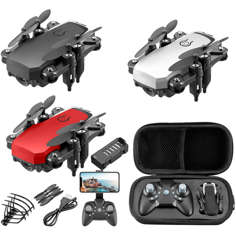 LF606 RC Drone UAV 4K HD With Camera Quadrocopter Mini 606 Remote Control Helicopter One-key Return WiFi Foldable Quadcopter Toy