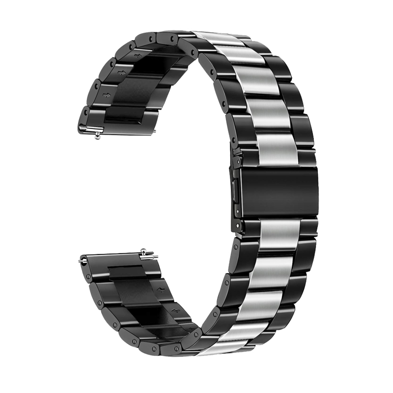 22mm/20mm Stainless Steel Strap For Samsung Gear S3 Frontier Galaxy 46mm/42mm Huawei Watch Gt Band S2 Classic Active 2 Bracelet