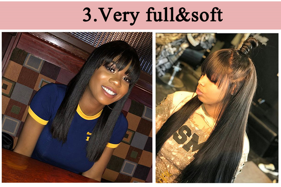 full lace frontal wig with bangs