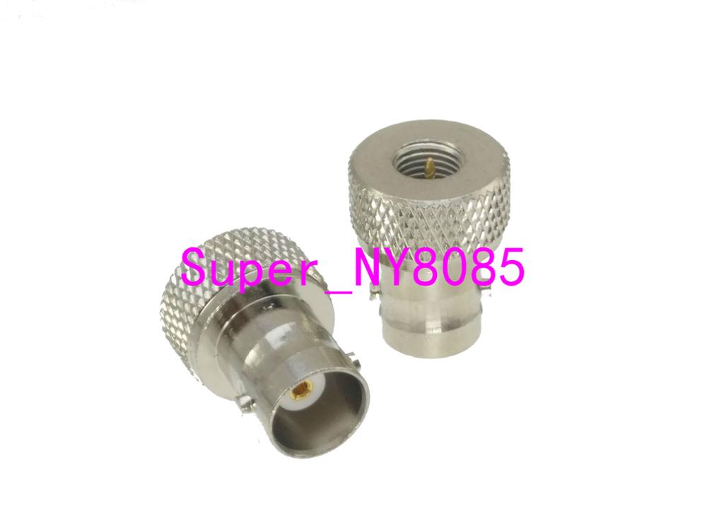 Adapter BNC Female Jack To SMA Male Plug Nickel Plating RF Antenna Radio