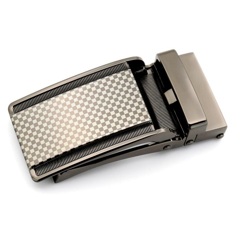 Men's Business Alloy Automatic Buckle Unique Men Plaque Belt Buckles For3.1cm Ratchet Men Apparel Accessories Belt LY155-1853-10