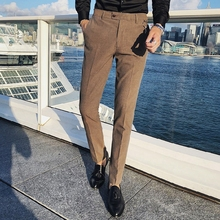 Pantalones de vestir Pantalones caqui para hombre Otoño Hombre 2020
