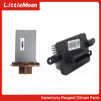 Air conditioning speed regulation module Blower resistor for Dongfeng Peugeot 3008