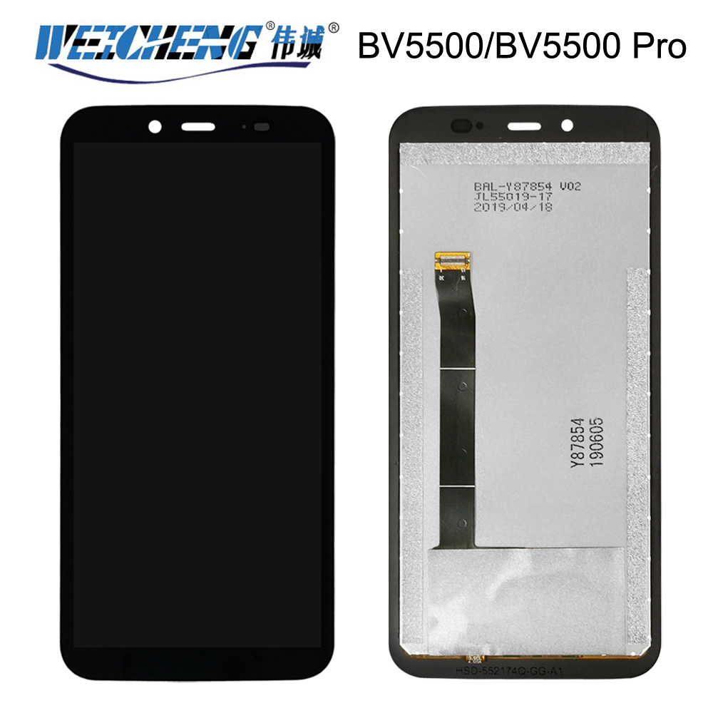 5.5''For <font><b>Blackview</b></font> <font><b>BV5500</b></font> LCD Display and Touch Screen Tested Assembly Repair Parts For <font><b>Blackview</b></font> <font><b>BV5500</b></font> <font><b>pro</b></font> image
