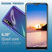 6,26 zoll Wasser Tropfen Bildschirm 9A 4G RAM 64G ROM Gesicht ID Anerkennung Entsperrt Handys Original Smartphones android Handy