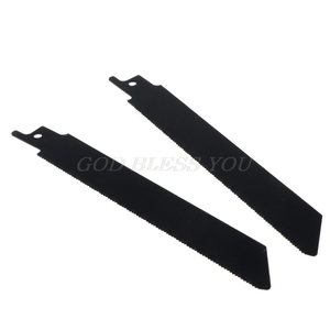 Image 5 - 2PCS/SET Black Reciprocating Sabre Saw Blades for Cutting Metal Professional S922EF Accessory Kit Tool Drop Shipping