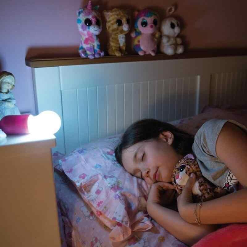 1 шт. креативная Подвесная лампа с питанием от аккумулятора, светодиодный светильник, цветная Выдвижная шнур, лампа, вечерние садовое, Рождественское украшение