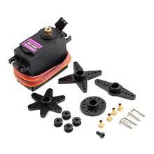 Servo engrenagem metálica para futaba jr, equipamento de metal digital mg996r mg996 para carro rc modelo de helicóptero e barco