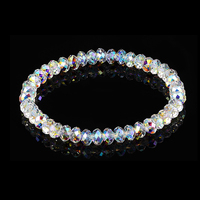 Luxury Colorful Crystals Beads Chain Bracelet Bangles Wrap Bracelet Charm Hand Jewelry For Women Wedding Christmas Gifts DIY