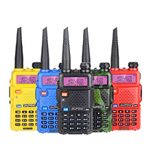 Baofeng UV-5R talkie-walkie 10km double bande Radio jambon UHF VHF Baofeng UV5R Interphone Radio bidirectionnelle portable sans fil Interphone(China)