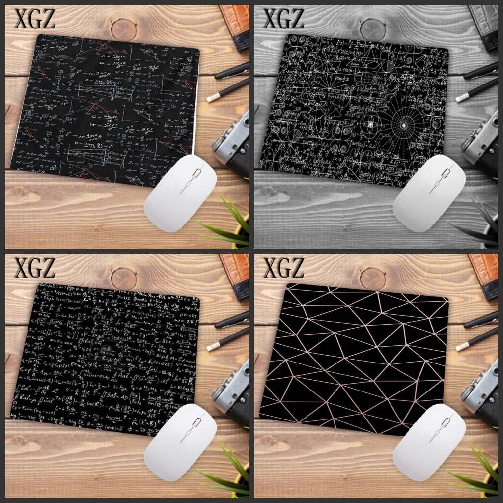 XGZ Chemistry Undergraduate Blackboard Laptop Non-slip Washable Gaming Mouse Pad Size Is 18x22 Cm 25x29 Cm Small Mouse Pad