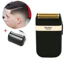 Kemei Electric Shaver for Men Twin Blade Waterproof Reciproc