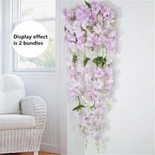 Искусственные искусственный цветок из шелка лоза украшения сада
