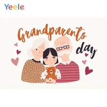 Happy Grandparents Day Photocall Love Family Photography Backdrops Personalized Photographic Backgrounds For Photo Studio customized happy hanukkah photocall shining gold photography backdrops personalized photographic backgrounds for photo studio