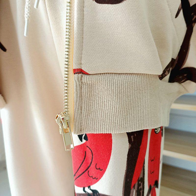 2021 Kids Clothes Boys Jackets Children Hooded Zipper Windbreaker Baby Fashion Print Coat Infant Waterproof Hoodies For Girls 6