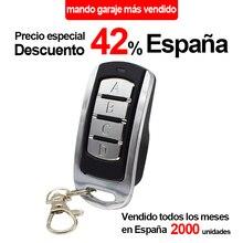 Пульт дистанционного управления гаражной двери для 433 МГц гаражной команды 433,92 868 310 315 390 МГц, для гаражной двери открывалка подвижной код фиксированный код передатчик