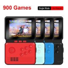 Consola de jogos de vídeo retro protable 3.0 Polegada m3 mini consola de jogos de mão 16 bits construído em 900 jogos clássicos