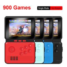 Retro gra wideo konsoli przenośny 3 0 Cal M3 Mini przenośna konsola do gier 16 Bit wbudowana 900 klasyczne gry tanie tanio TECTINTER NONE CN (pochodzenie) 3 0 Video Game Console consolas de videojuegos retro game console handheld game console