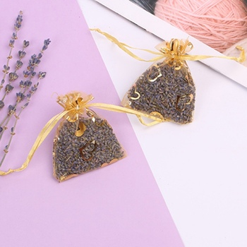 5g Fragrant Lavender Buds Dried Lavender Sachets Drawers Freshener Home Fragrance Bag Lavender flower sachets23.