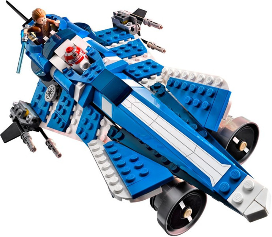 אנקין של Custom הג אבני בניין דגם צעצוע לילדים בלה 10375 חלל מלחמת לבני דמות תואם עם Lepining מתנות