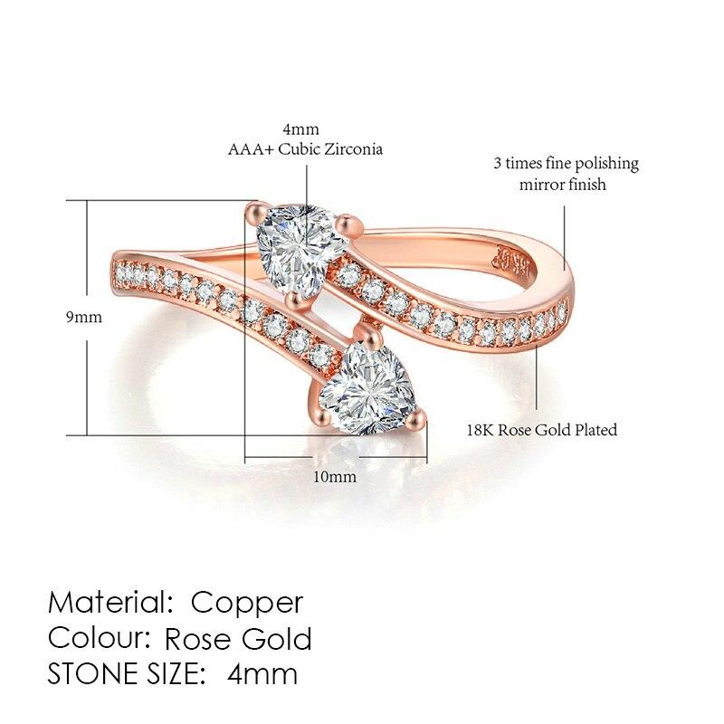 ZHOUYANG кольцо для женщин, простой стиль, кубический цирконий, свадебное кольцо, светильник, золотой цвет, модное ювелирное изделие KBR103 - Цвет основного камня: R834