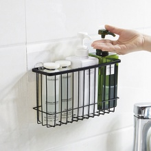 MeyJig Makeup Cosmetic Storage Basket Bathroom Hanging Basket Kitchen Organizer Sponge Holder Tableware Shelf Comb Box