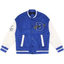 Men Women Varsity Premium Jacket Sweater Coat Senior 2020 Trendy Arrow Heart Baseball Jacket Uniform