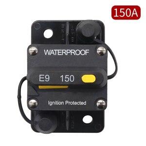 Поверхностное крепление автоматические выключатели 150A водонепроницаемый выключатель предохранитель держатель с ручным сбросом переключ...