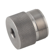stainless steel end cap screw adpater 1/2x28 5/8x24 for Fuel Filter QT120 mst solvent traps Napa 4003 WIX 24003