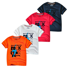 Kids Baby T-shirt Tops Youngster Baby Kids Boy Rock Star Letter Print T-shirt Short Sleeve T-shirt Tee Clothes xmal deutschland shirt goth 4ad sisters of mercy the cure uk siouxsie banshees letter top tee t shirt men short sleeve t shirt