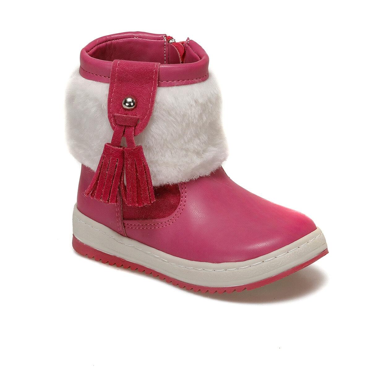 FLO 72.509537.B Fuchsia Female Child Classic Boots Polaris