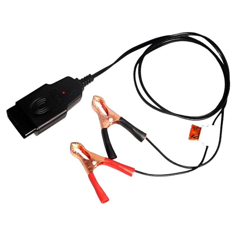 to Alligator Clip Parallelizer Car ECU Memory Saver 12V Battery Replace
