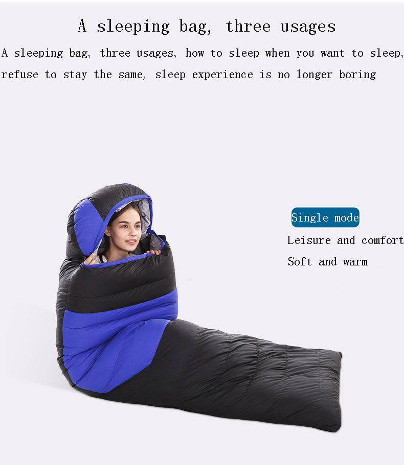 Apparel - Down sleeping bag