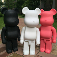 21inch 52cm 700% Bearbrick Be@rbrick DIY Fashion Toy PVC Action Figure Collectible Model Toy Decoration christmas gifts favors