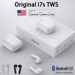 i7s TWS Bluetooth Earphone Wireless Headphones Air Earbuds Sport Handsfree Headset With Charging Box For Apple Xiaomi Android