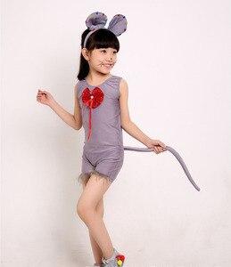 Image 2 - Детские костюмы для мальчиков и девочек, крыса, мышь, косплей, маскарадное платье, животные, Хэллоуин, Рождественский костюм, комбинезон, Рождество, Хэллоуин