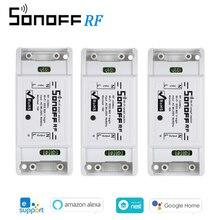 3 Sonoff RF Phát Wifi Interruptor Thu RF 433Mhz Từ Xa Thông Minh Điều Khiển Không Dây Dành Cho Nhà Thông Minh Wifi Ánh Sáng công tắc