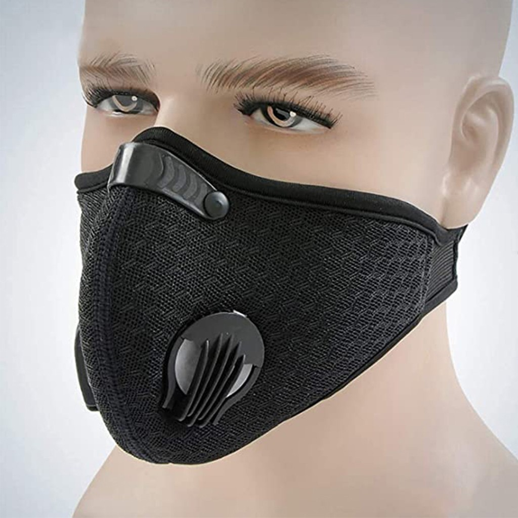 wholesale Outdoor Anti-dust Half Face Mouth-muffle Windproof for Bicycle SkiingCotton Cloth Reusable Face Mouth scarf Reusable