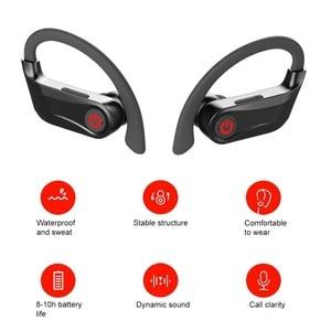 Image 2 - Q62 Tws Wireless Bluetooth Headphone Sport Earphone Running Earbuds Waterproof Headset With Mic For iphone Samsung Huawei Xiaomi