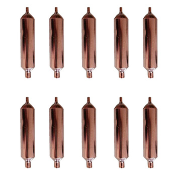 20 sztuk filtr liofilizujący 130X19mm wysokiej jakości lodówka pogrubienie i długi filtr suszenia tanie i dobre opinie CN (pochodzenie) brass Copper 130 x 19mm