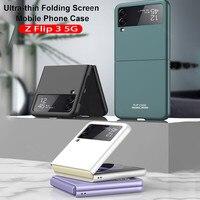 Funda de teléfono plegable ultrafina para Samsung Galaxy ZFlip3 Z Flip 3 Flip3 5G, carcasa protectora ZFilp 3 5G, Z-Flip-3