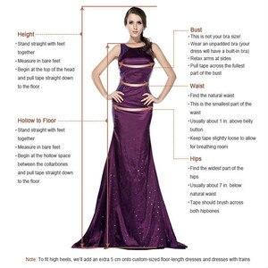 Image 4 - New Arrivals Luxury Beadedลูกไม้ลูกไม้ชุดแต่งงานชุด2020ใหม่ออกแบบแขนยาวชั้นงานแต่งงานGowns Vestido De Noiva