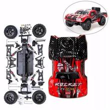 RCtown REMO 1621 1/16 RC Short Course Truck Car Kit with Car Shell Without Electronic