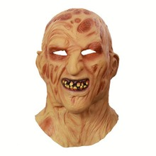 Cosplay Freddy Krueger Mask Halloween Party Adult Scary Horror Costume Fancy Dress Christmas