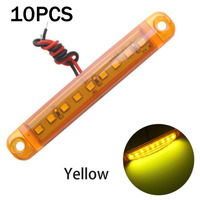 Turn Signal Car LED Lights Waterproof PS lamp 10pcs 9 LED Side Lights Marker|Truck Light System|Automobiles & Motorcycles -