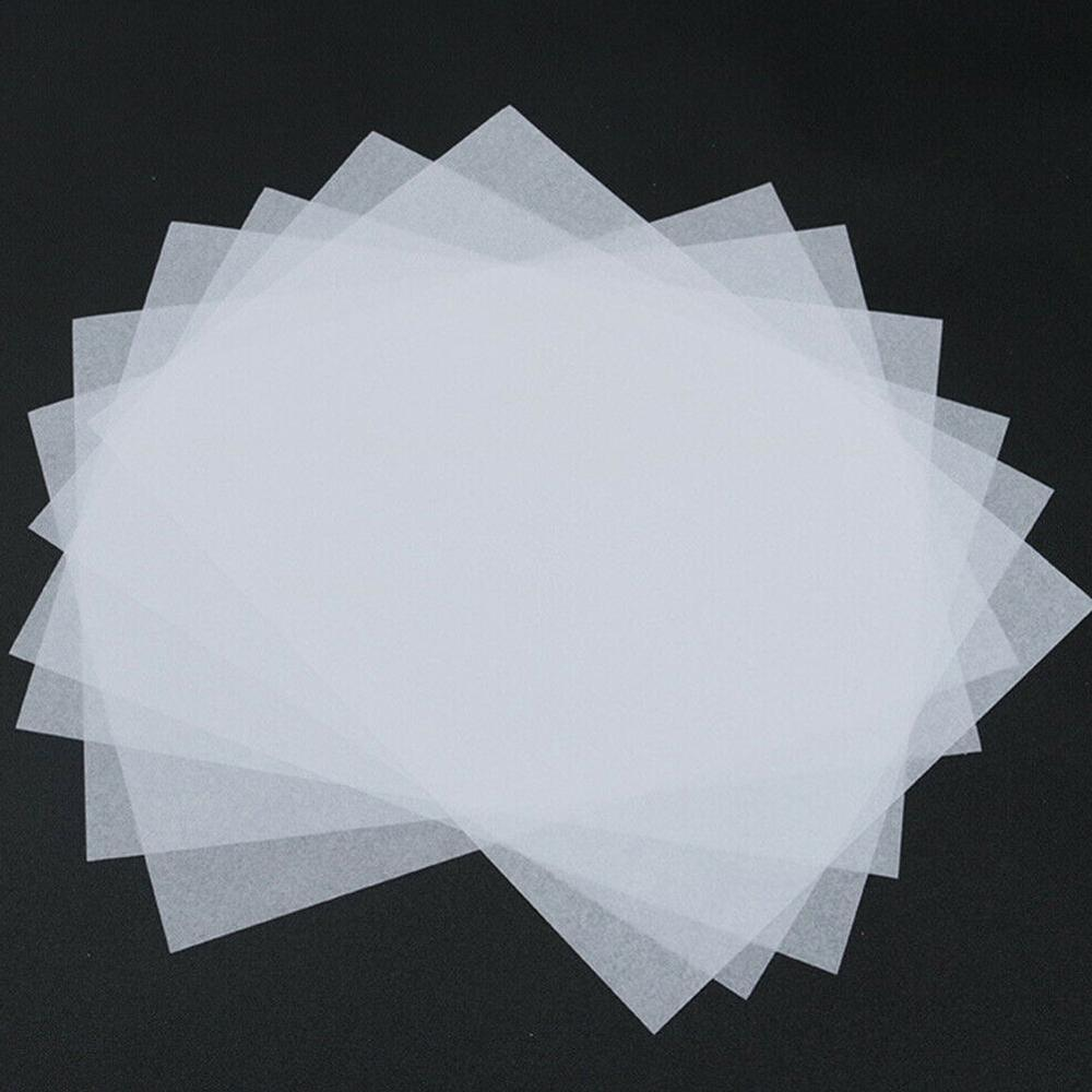 100PCS Set Translucent Tracing Paper Calligraphy Craft Writing Copying Drawing Sheet Paper For Tracing Scrapbooking