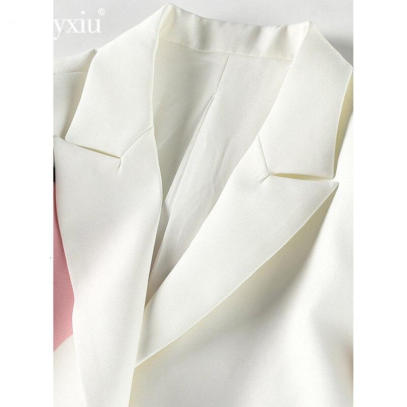 Elegant Long Sleeve Blazers Pants Suits Autumn Designer Fashion Two Piece Jacket Set Women's Suit Matching Set Winter Clothing