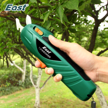 EAST Power Tools 7.2V akumulator litowo-jonowy akumulatorowy Secateur Branch Cutter ET1002 elektryczne narzędzie do przycinania owoców ścinanie do Ol \