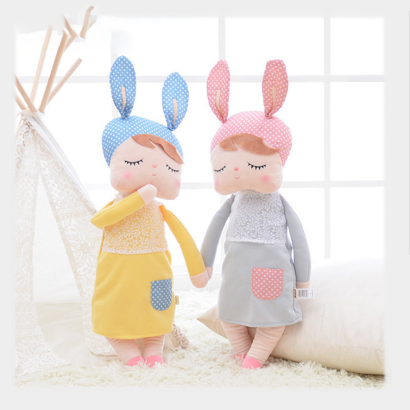 Cute Angela Retro Metoo Plush Rabbit Doll Kawaii Baby Soothing Toy Girl Child Birthday Christmas Gift
